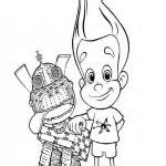 Jimmy Neutron coloring pages - Printable coloring pages