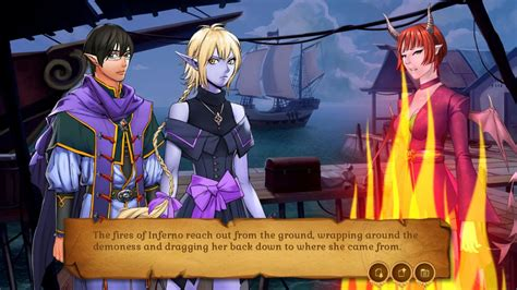 Amber's Magic Shop - fantasy dating sim with crafting and