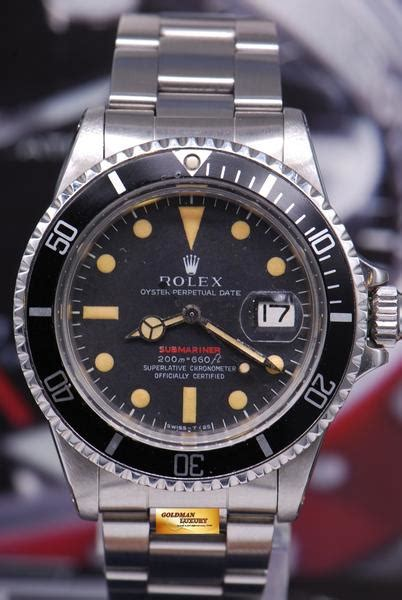 [SOLD] ROLEX OYSTER PERPETUAL RED SUBMARINER METER FIRST