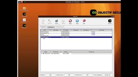 Ophcrack windows password cracking example how it works on