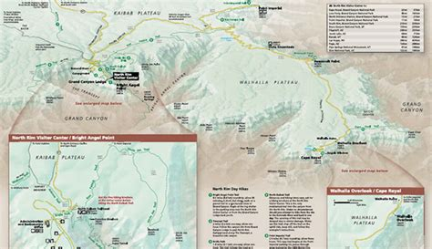 Download PDF Map of the North Rim and Grand Canyon Lodge