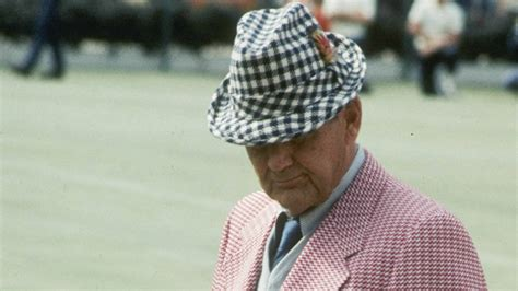 A disillusioning conversation with The Great Bear Bryant
