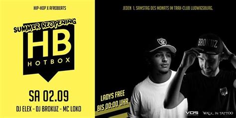 Party - Hotbox - Trax Club - Summer Reopening // 02 Sept