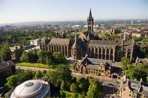 Here's where Glasgow, Strathclyde and Glasgow Caledonian