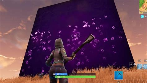 Mysterious Cube in Fortnite Moves Every Hour and 43