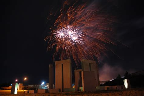 Rolla, MO : Missouri S&T's Stonehenge (fireworks from S&T