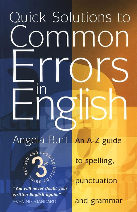 Quick solutions to common errors in english by SEO Lê Gia