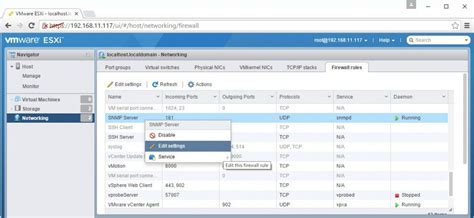 Managing ESXi Firewall with vSphere client, PowerCLI