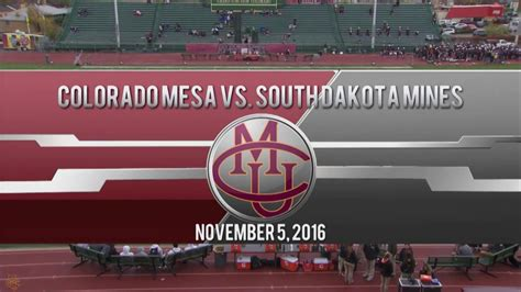CMU vs SDSMT 2016 Football Game Highlights - YouTube