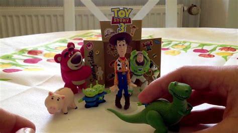 Toy Story 3 Gacha Diorama Collection 2 Review Deutsch