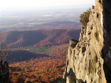 Charlottesville, VA : A View from a hike just outside the