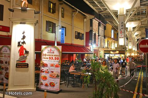 Chinatown Food Street Singapore - Famous Hawker Centre on