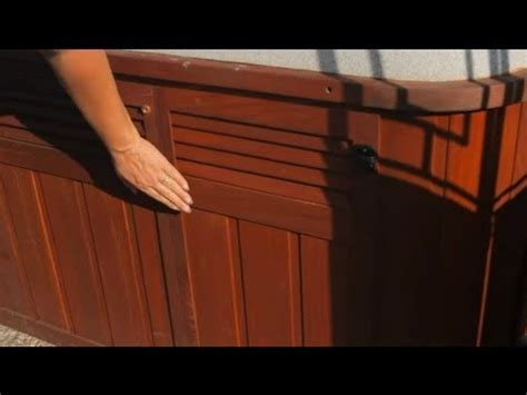 How to Replace Hot Tub Siding : Hot Tub Tips - YouTube