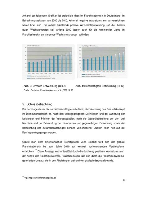 Hausarbeit - Franchising by Mark Etting