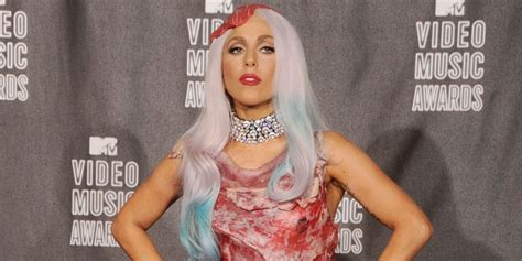 Lady Gaga's meat dress still exists and this is what it