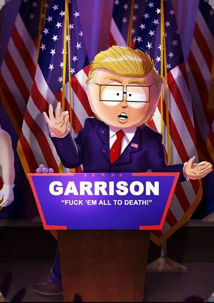 President Elect Garrison | The South Park Game Wiki