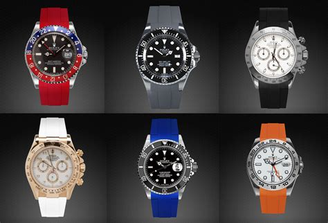 Rolex Watch Fans Will Discover RUBBER B, the Ultimate