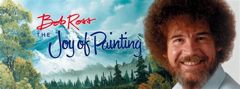 Bob Ross, artist, painting instructor and life coach for today