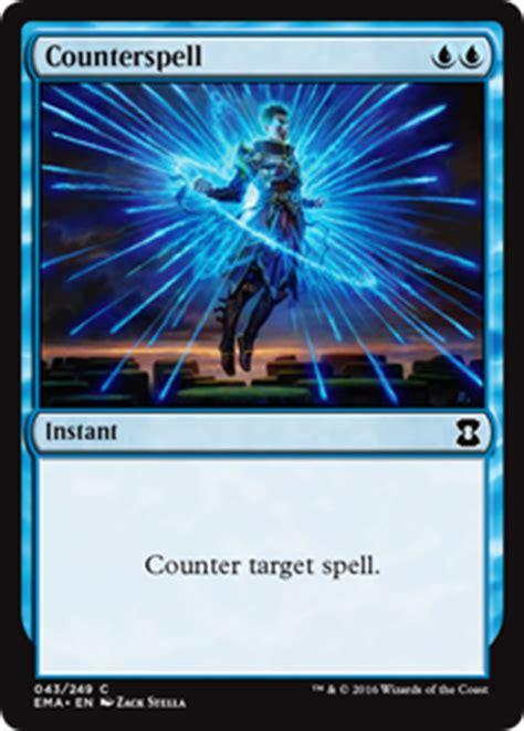 Counterspell - Instant - Cards - MTG Salvation