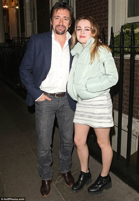 Richard Hammond enjoys a night out with daughter Isabella