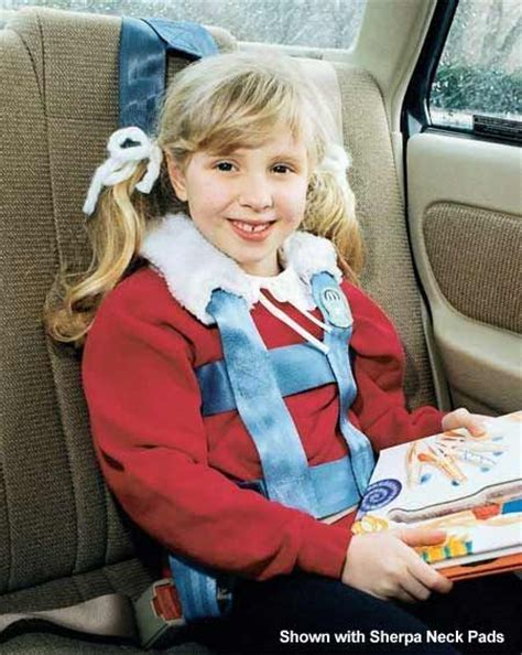 EZ-ON Adjustable Vest for Family Vehicles   Special needs