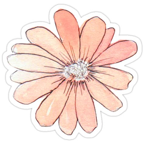"""""""Flower tumblr"""" Stickers by charlo19   Redbubble"""
