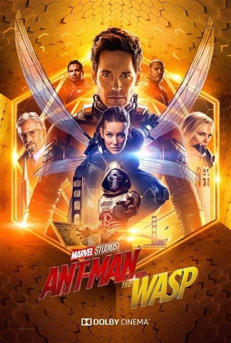 Marvel's Ant-Man and the Wasp gets a new poster and images