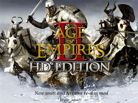 Aoe 2 HD New units and terrain re-skin mod for Age of