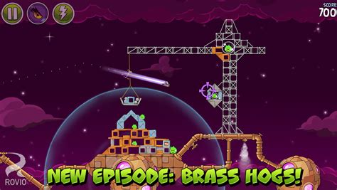Angry Birds Space Gets Uploaded With New Brass Hogs Levels