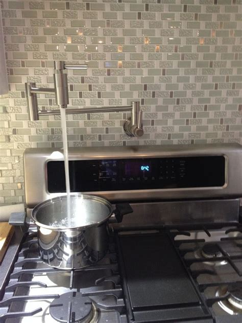 Water Faucet Over Stove | Kitchen stove, Kitchen ideals