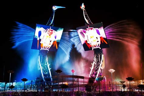 3 Great Light Shows in Singapore – Evening Sound and Light