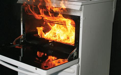 Take care when cooking - Kitchen fire safety tips
