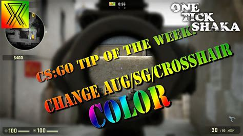 How to Change Your AUG, SG, and Regular Crosshair Color