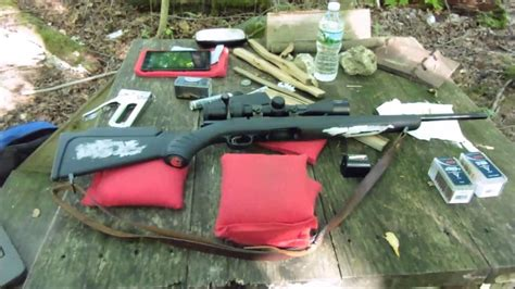 Compact Ruger American 22 Mag