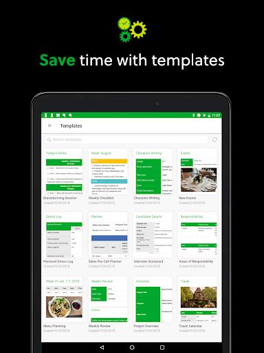 Evernote Android App - Free APK by Evernote Corporation
