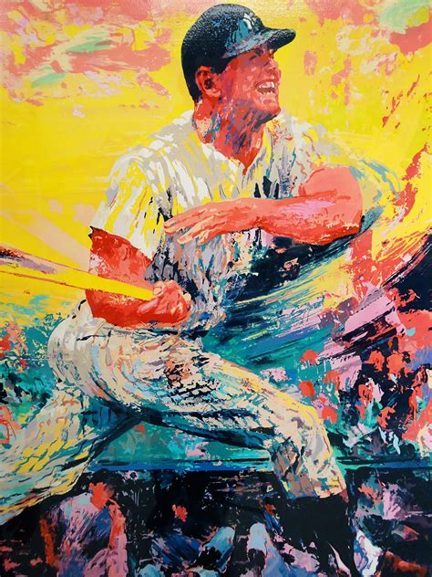 """Lot Detail - """"Mickey Mantle"""" Serigraph Signed by Artist"""