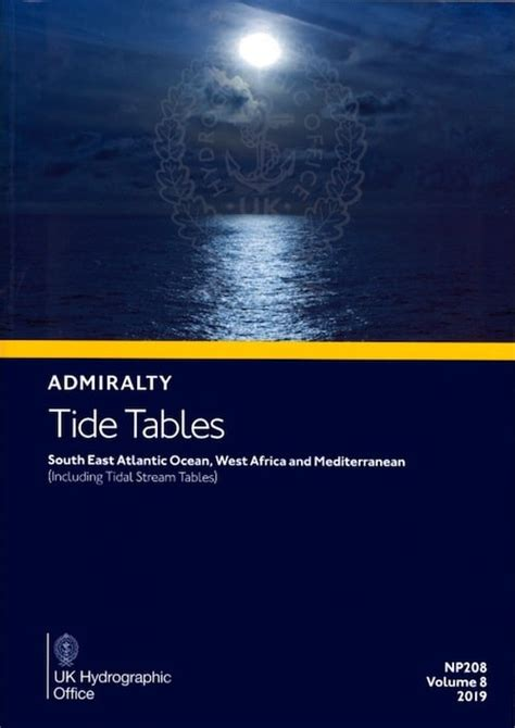 Admiralty Tide Tables: SE Atlantic Ocean,W Africa and