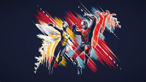 Wallpaper Ant-Man and the Wasp, poster, 4K, Movies #18841