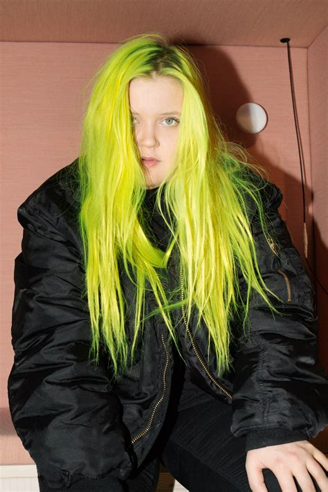 WITH NEON GREEN HAIR ALMA IS FINLAND'S NEW POP EXPORT