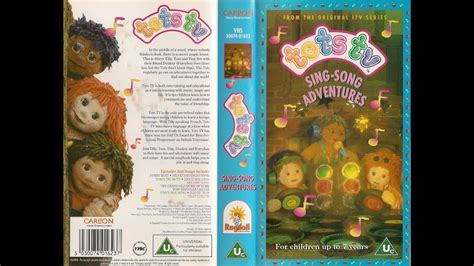 Tots TV - Sing-Song Adventures [VHS] (1998) - YouTube