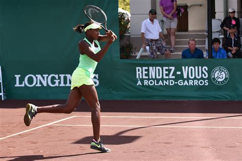 Cori Gauff, 15, has great potential and a greater goal: be