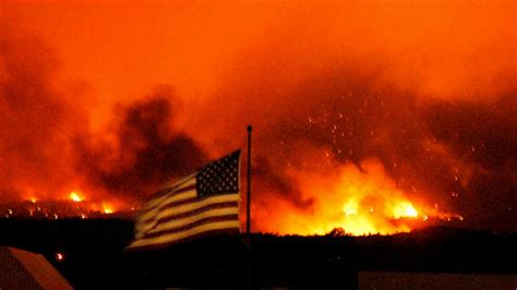 Wildfires' Fueled by Weather, Wind & Dry Underbrush