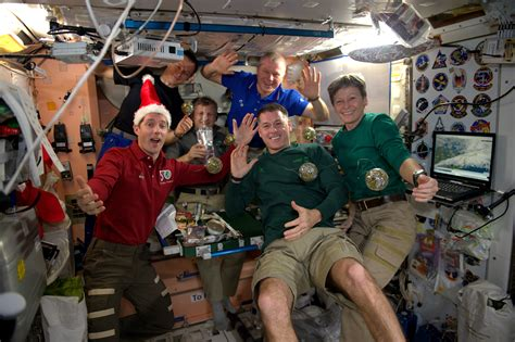 Diary entry 4: holidays on the International Space Station
