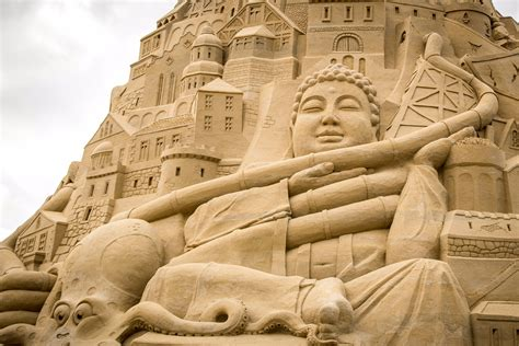 The world's largest sandcastle has just been built in Germany