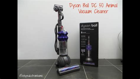 Dyson Ball DC 50 Animal Vacuum Cleaner Review - YouTube